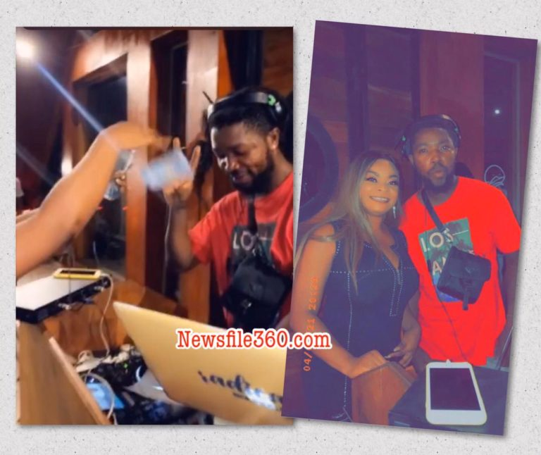 DJ is too much I had to go spray him money – Beverly Afaglo