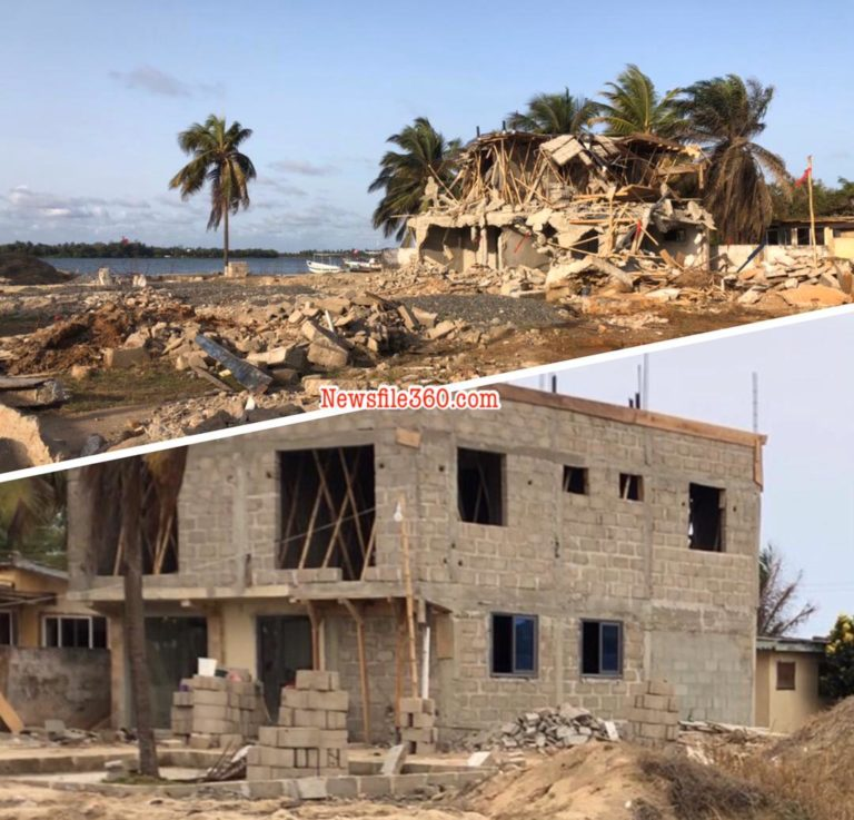 Businessman denounce Police, Ada-Foah chiefs, and land guards over demolished property