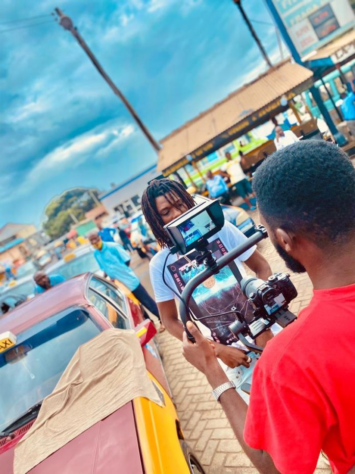 Elkay is the Youngest Music Video Director in Ghana