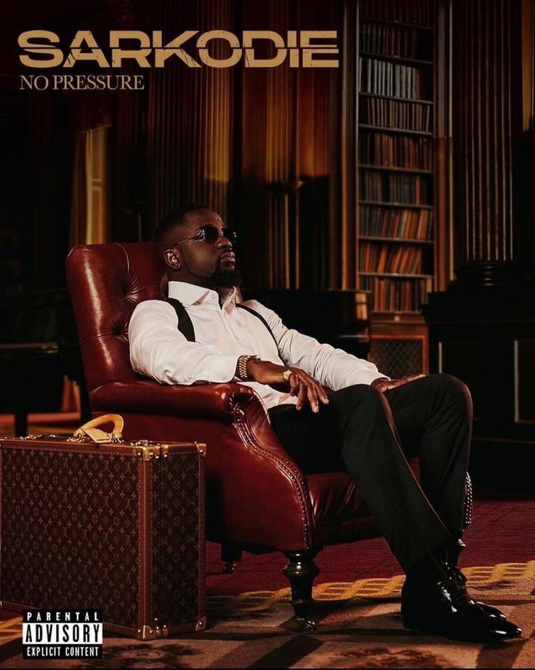 Here's the official track listing for Sarkodie's 'No Pressure' album