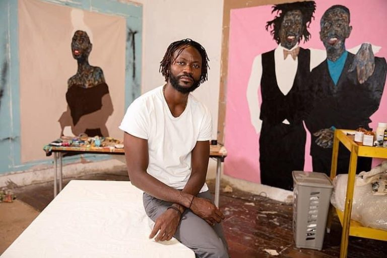 Meet Amoako Boafo, an artist from Ghana that is making impact with his art.