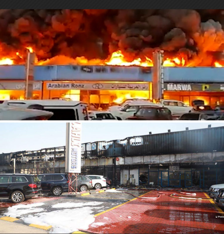 Dubai: 55 cars damaged as fire breaks out in showroom