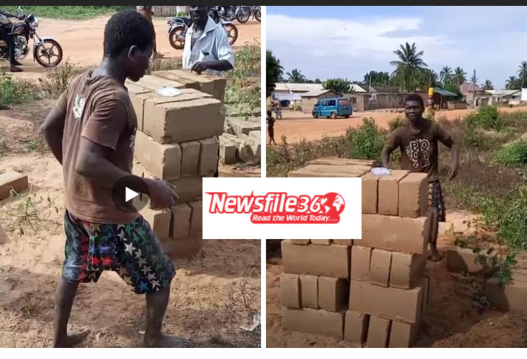Video: How suspected thief was made to lift blocks as punishment at Ada