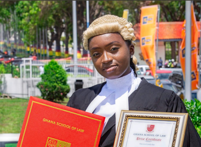 Meet Ama A. DaCosta, Ghana's youngest lawyer