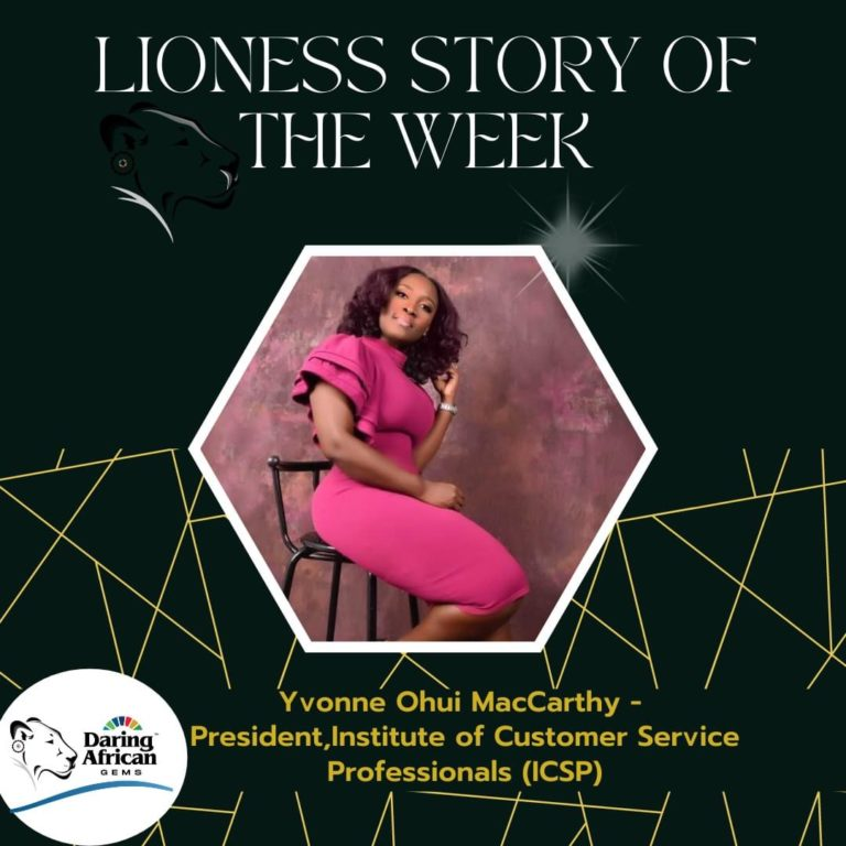 Daring African Gems: Lioness Story of the week